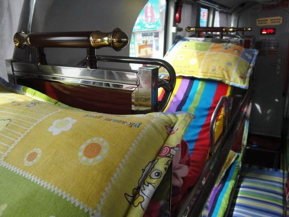车内床位1-车况-延吉市至黄岛豪华卧铺客车产品分类